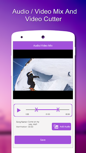 Audio / Video Mix,Video Cutter  screenshots 3