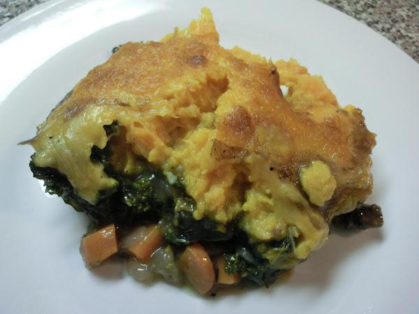 Veggie/sweet Potatoe Casserole Recipe