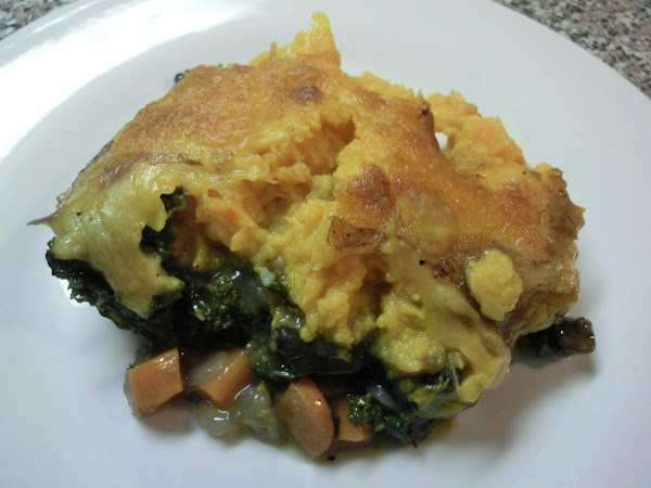 Veggie/sweet Potatoe Casserole Recipe