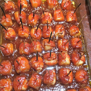 Bacon-Wrapped Water Chestnuts.