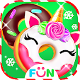 Cook Donut Game - Unicorn Food Maker icon