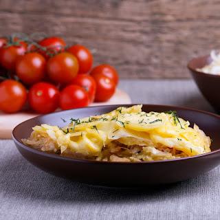 Potato & Cabbage Casserole.