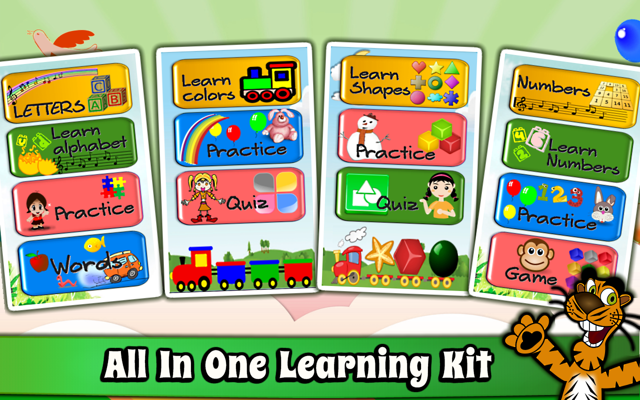 Preschool games for learning colors - Kids Preschool Learning Pro Screenshot