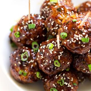 25-Minute Asian Chicken Meatballs