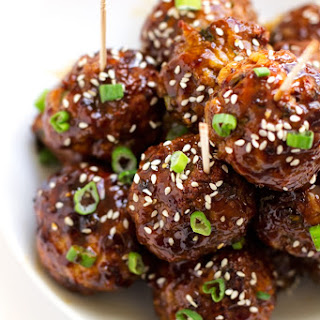 25-Minute Asian Chicken Meatballs.