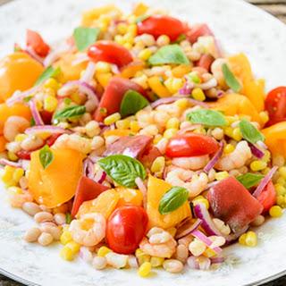Summer Shrimp Tomato Salad