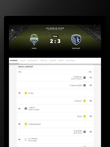 MLS MatchDay 2011 screenshot 12