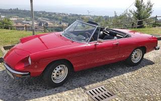 Alfa Romeo Spider Coda Tronca 1300 Junior Rent Emilia-Romagna