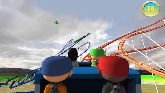 1 Real Roller Coaster Simulator App screenshot