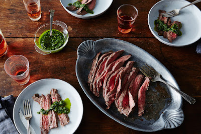 How to make a quick flank steak.
