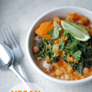 Vegan Kale Squash Curry