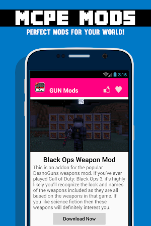 GUN MODS FOR MCPE 1.4.2 screenshot 638884