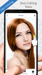 Hair Coloring - Recolor photo hair color - Android Apps on Google Play