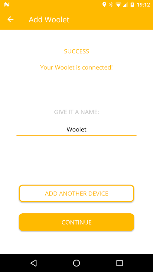 Woolet 2.0- screenshot
