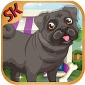 Pug The dog Makeover Doctor Game