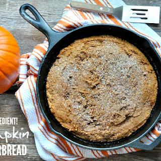 2 Ingredient Pumpkin Gingerbread