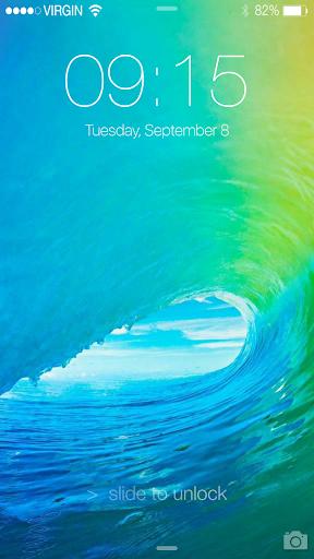 Lock Screen iPhone 6S