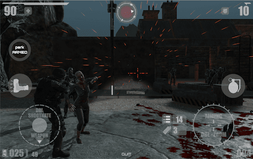 Mod Game Rise of Zombie Apocalypse for Android