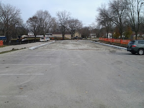 Photo: Curbed parking lot 11-14-2013
