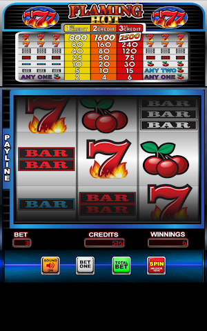 android Flaming Hot 7's Casino Slots Screenshot 2