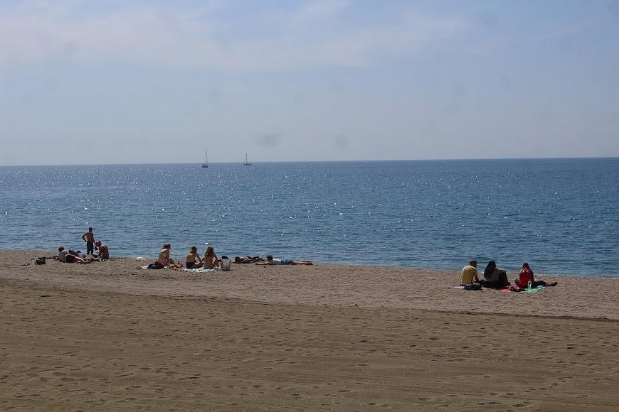 Playa de los Tritones.