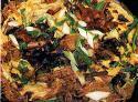 Mushroom Omelette- Open-faced Recipe