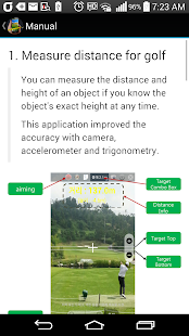 Measure Distance and Aiming - náhled