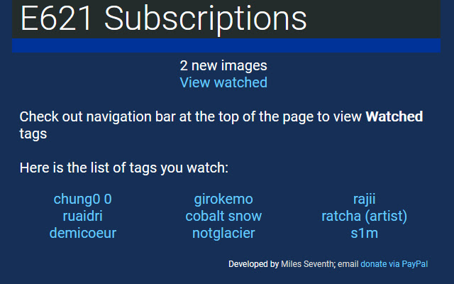 e621 Subscriptions