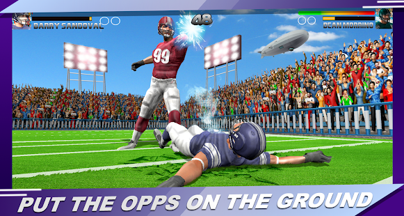 Football Rugby Players Fight Screensthumbnail Football Rugby Players Fight Screensthumbnail