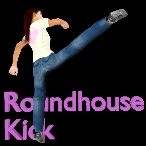 動作App|Roundhouse Kick free LOGO-3C達人阿輝的APP