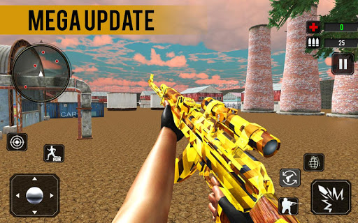 Counter Terrorist Stealth Mission Battleground War  captures d'écran 1