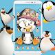 Cute Cartoon Penguin Theme apk