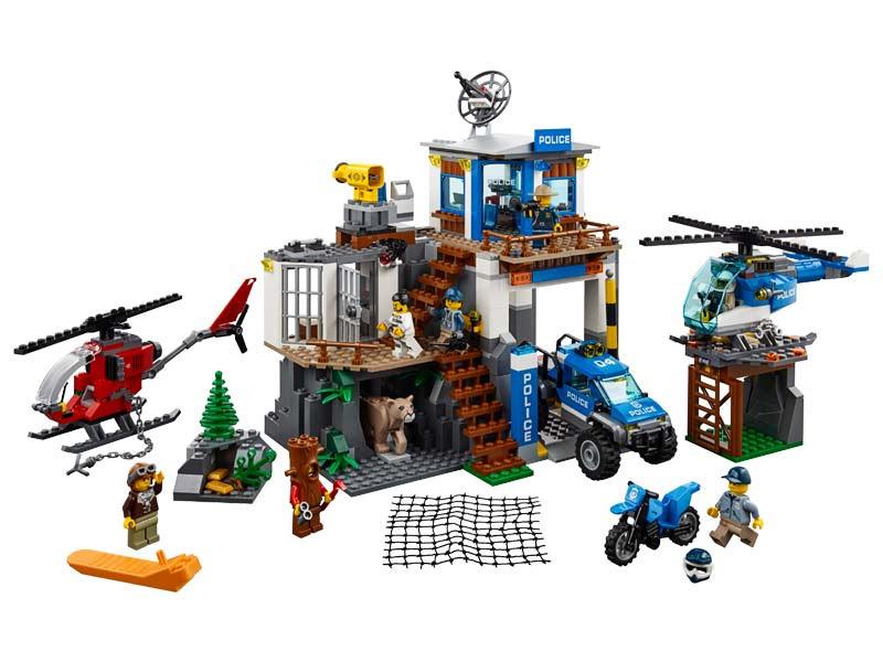 Contenido de Lego® 60174 Montaña: Comisaria de Policía