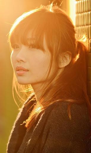 Lwp のアジアの女の子