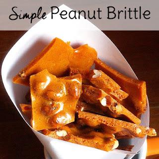 Simple Peanut Brittle