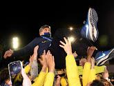 Union werd zaterdag kampioen, en dat werd tot in de vroege uurtjes gevierd