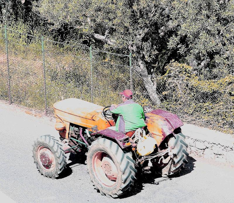 Il trattorista di ottavioart
