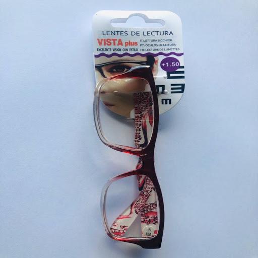lentes de lectura rojo +1.50