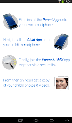 android SelfieCop Child App Screenshot 2