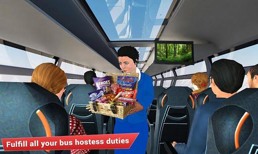 Virtual girl tourist bus waitress jobs : Dream Job 1.5 screenshots 4