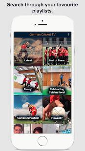 German Cricket TV - náhled