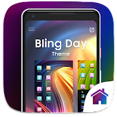 Bling Day Theme For Computer Launcher
