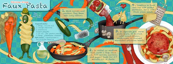 Photo: Illustrated Recipe (Book Spread) :: © Kim Buchheit