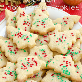 Christmas Shortbread Cookies.