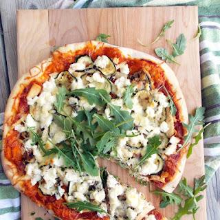 Zucchini Chicken Ricotta Pizza