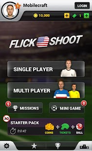 Flick Shoot US: Multiplayer - screenshot thumbnail