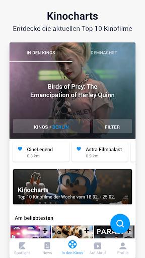 kino.deu00a0- Kinoprogramm, Streaming, Filme & Serien 5.6.4 screenshots 3