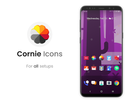 Screenshot for Cornie - Icon Pack in United States Play Store