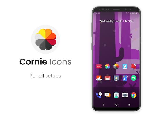Cornie - Icon Pack screenshot 1
