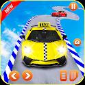 Crazy Taxi Car Stunts- Ramp Car Stunts icon
